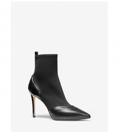 MICHAEL Michael Kors Khloe Scuba and Leather Ankle Boot