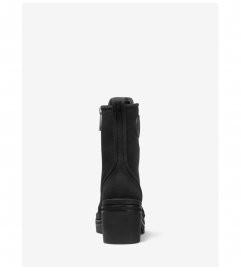 MICHAEL Michael Kors Corey Canvas Combat Boot
