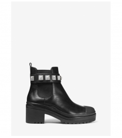 MICHAEL Michael Kors Glenn Studded Leather Boot