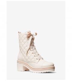 MICHAEL Michael Kors Tilda Quilted Leather Combat Boot