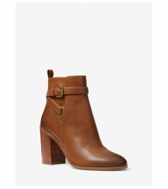 MICHAEL Michael Kors Aldridge Burnished Leather Ankle Boot