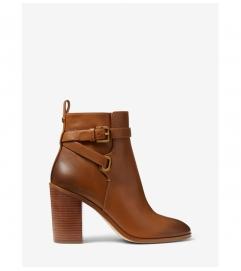 MICHAEL Michael Kors Aldridge Burnished Leather Ankle Boot