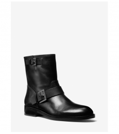 MICHAEL Michael Kors Reeves Leather Moto Boot