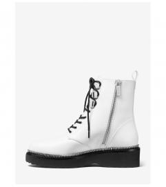 MICHAEL Michael Kors Tavie Leather Combat Boot