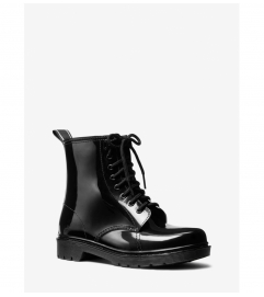 MICHAEL Michael Kors Tavie Logo Tape Lace-Up Rain Boot
