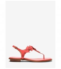 MICHAEL Michael Kors Flora Appliqué Leather Sandal