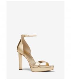 MICHAEL Michael Kors Margot Metallic Leather Platform Sandal
