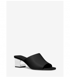 MICHAEL Michael Kors Petra Leather Mule