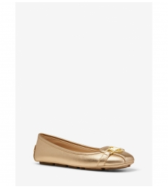 MICHAEL Michael Kors Tracee Metallic Leather Moccasin
