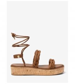 MICHAEL Michael Kors Marina Woven Lace-Up Sandal