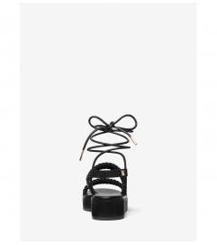 MICHAEL Michael Kors Marina Woven Nylon Lace-Up Sandal