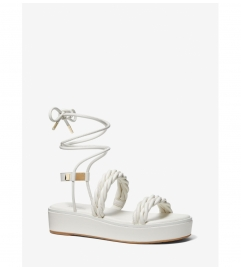 MICHAEL Michael Kors Marina Woven Lace-Up Sandal