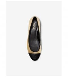 MICHAEL Michael Kors Dylyn Metallic Leather Ballet Flat