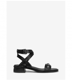 MICHAEL Michael Kors Garner Studded Leather Sandal