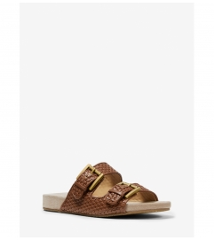 MICHAEL Michael Kors Merritt Woven Slide Sandal