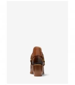 MICHAEL Michael Kors Pamela Burnished Leather Ankle Boot