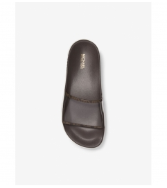MICHAEL Michael Kors Tyra PVC and Logo Slide Sandal