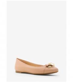 MICHAEL Michael Kors Alice Leather Ballet Flat