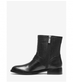MICHAEL Michael Kors Reeves Studded Leather Moto Boot