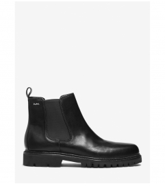 Michael Kors Mens Hudson Leather Boot