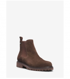Michael Kors Mens Hudson Suede Boot