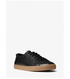 Michael Kors Mens Jake Leather Sneaker