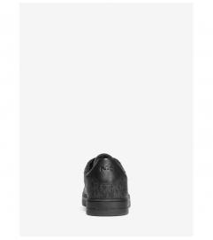 Michael Kors Mens Keating Logo and Leather Sneaker