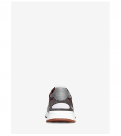 Michael Kors Mens Miles Leather and Nylon Trainer
