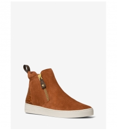 MICHAEL Michael Kors Clay Suede High-Top Sneaker