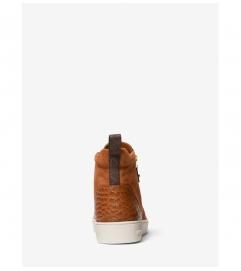 MICHAEL Michael Kors Clay Suede High-Top Sneaker