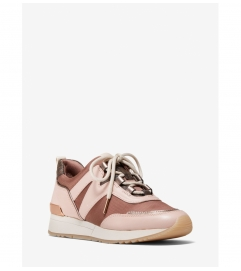 MICHAEL Michael Kors Pippin Mixed-Media Trainer