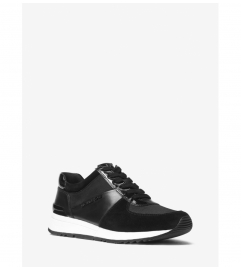MICHAEL Michael Kors Allie Leather and Canvas Sneaker