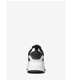 MICHAEL Michael Kors Cosmo Scuba and Color-Block Logo Slip-On Trainer
