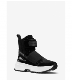 MICHAEL Michael Kors Cosmo Mixed-Media High-Top Trainer