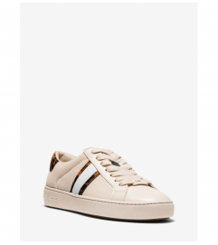 MICHAEL Michael Kors Irving Calf Hair and Mesh Stripe Sneaker