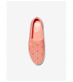 MICHAEL Michael Kors Kane Perforated Leather Slip-On Sneaker