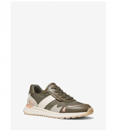 MICHAEL Michael Kors Monroe Mixed-Media Trainer