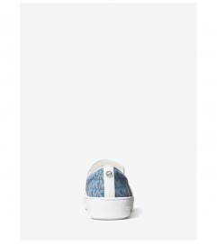 MICHAEL Michael Kors Keaton Logo Jacquard Slip-On Sneaker