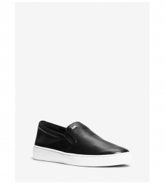MICHAEL Michael Kors Keaton Leather Slip-On Sneaker