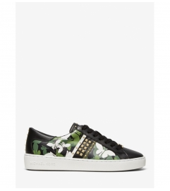 MICHAEL Michael Kors Keaton Butterfly Camo Leather Sneaker