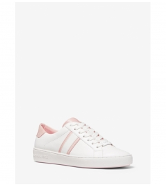 MICHAEL Michael Kors Irving Two-Tone Stripe Leather Sneaker