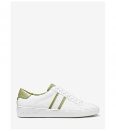 MICHAEL Michael Kors Irving Two-Tone Stripe Leather Sneaker