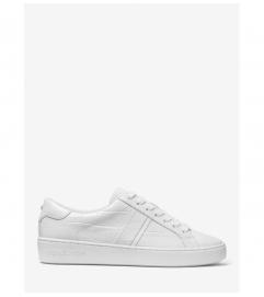 MICHAEL Michael Kors Irving Crocodile Embossed Leather Sneaker