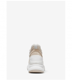 MICHAEL Michael Kors Mickey Mixed-Media Trainer