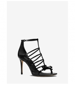 Michael Kors Collection Blythe Patent Leather Sandal
