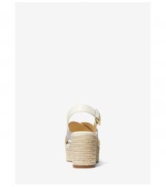 MICHAEL Michael Kors Morgana Logo Espadrille Wedge Sandal
