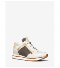 MICHAEL Michael Kors Maddy Two-Tone Logo Trainer