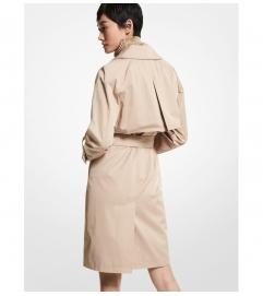 MICHAEL Michael Kors Cotton Blend Trench Coat