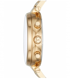 Michael Kors Sawyer Gold-Tone And Acetate Watch
