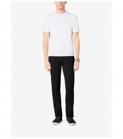Michael Kors Mens Tailored/Classic-Fit Stretch-Twill Five-Pocket Pants